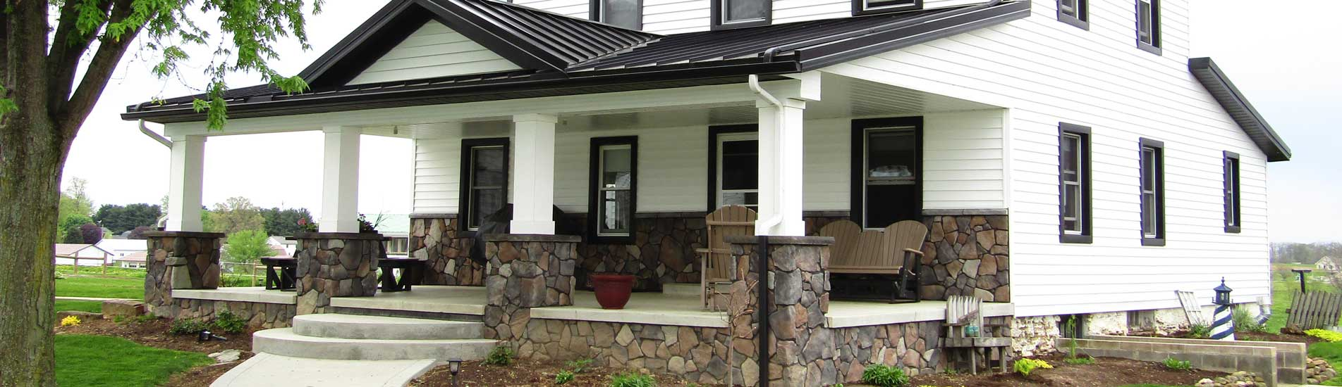 The experts in home exteriors | Amish Country Builders in Ohio
